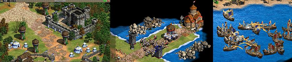 Age of Empires 2 - эпизоды игры