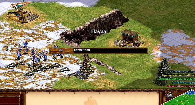 Коды для Age of Empires 2